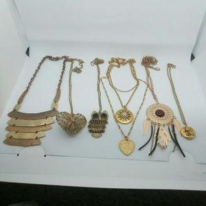 Jewelry - 6 pc. Gold-Tone Necklace Bundle 💜